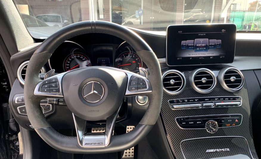 2018 Mercedes-Benz C-Class AMG63 S Coupe