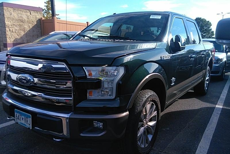 2016 Ford F150 4X4 CR KING RANCH