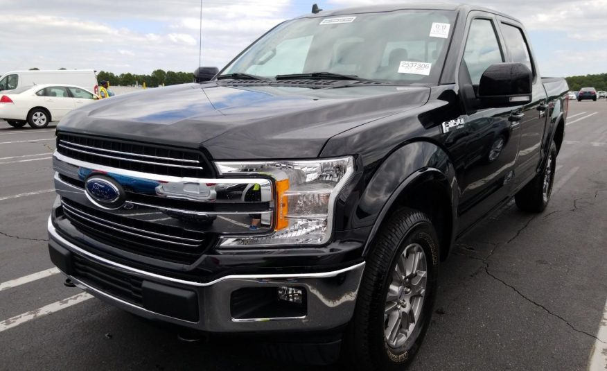 2019 Ford F150 4X4 CR LARIAT