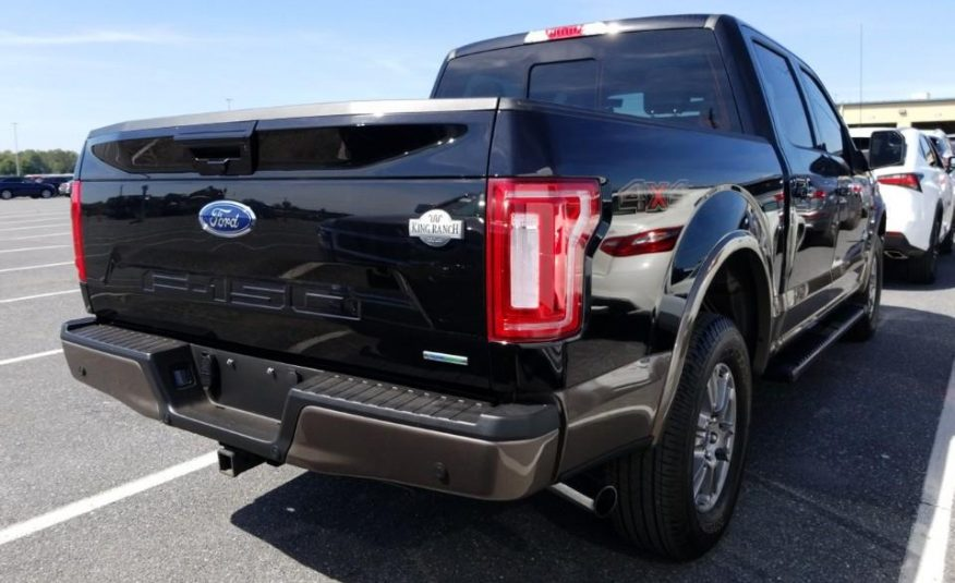2019 Ford F150 4X4 CR KING RANCH