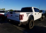 2017 Ford F150 4X4 CR RAPTOR