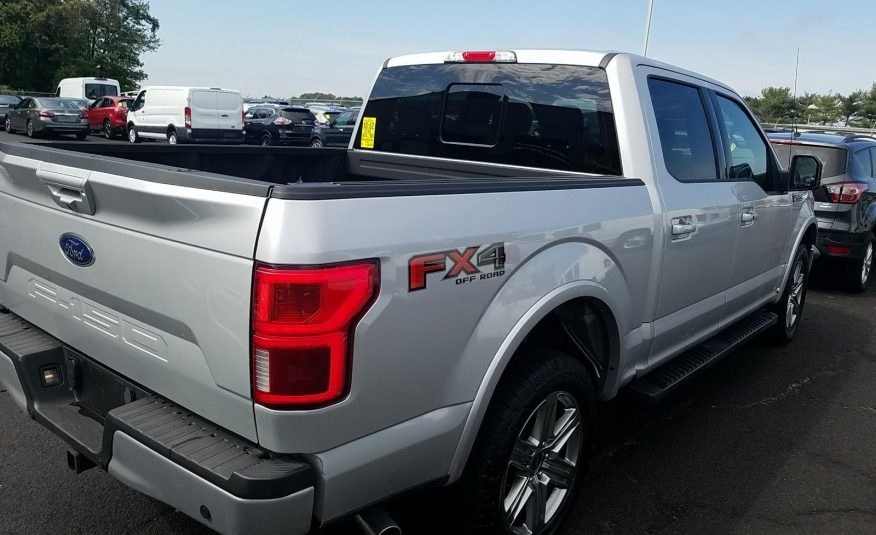 2018 Ford F150 4X4 CR LARIAT