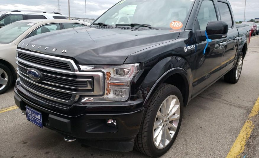 2019 Ford F150 4X4 CR LIMITED