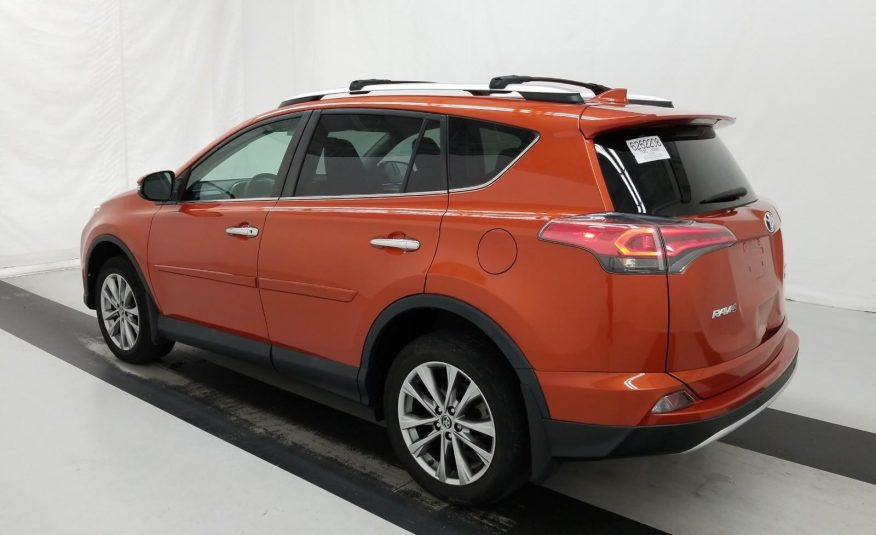 2016 Toyota RAV4 AWD LIMITED