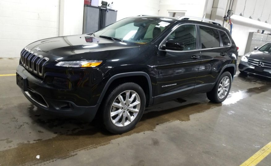 2016 Jeep CHEROKEE 4X4 4C LIMITED