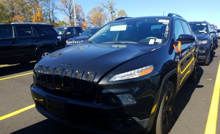 2016 Jeep CHEROKEE 4X4 4C HIGH ALTIT
