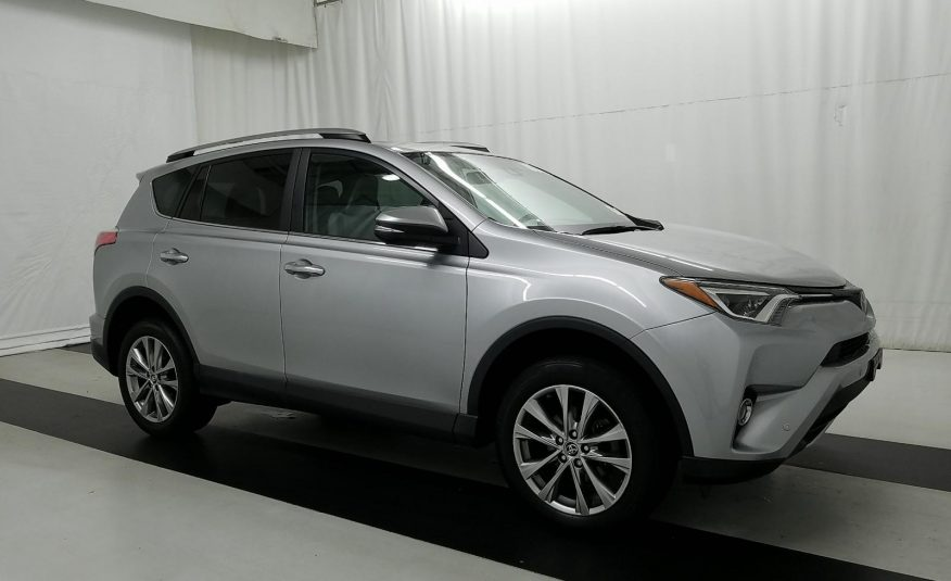2017 Toyota RAV4 AWD LIMITED